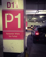 Remember Where You Parked (PEEJ0E) Tags: underground garage parking