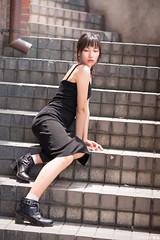 TOM09948 (HwaCheng Wang 王華政) Tags: 台北 時裝 西門町 美國街 電影公園 紅樓 西門天橋 md model portraiture sony a7r3 ilce7rm3 a7r mark3 a9 ilce9 24 35 85 gm dress street