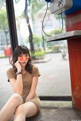 III09933 (HwaCheng Wang 王華政) Tags: 台北 時裝 西門町 美國街 電影公園 紅樓 西門天橋 md model portraiture sony a7r3 ilce7rm3 a7r mark3 a9 ilce9 24 35 85 gm dress street
