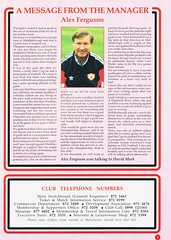 Manchester United vs Middlesbrough - Rumbelows Cup Semi Final 2nd Leg - 1992 - Page 3 (The Sky Strikers) Tags: manchester united middlesbrough rumbelows league cup semi final 2nd leg second road to wembley old trafford review official season programme one pound