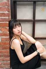 III09988 (HwaCheng Wang 王華政) Tags: 台北 時裝 西門町 美國街 電影公園 紅樓 西門天橋 md model portraiture sony a7r3 ilce7rm3 a7r mark3 a9 ilce9 24 35 85 gm dress street