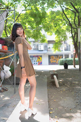 III09919 (HwaCheng Wang 王華政) Tags: 台北 時裝 西門町 美國街 電影公園 紅樓 西門天橋 md model portraiture sony a7r3 ilce7rm3 a7r mark3 a9 ilce9 24 35 85 gm dress street