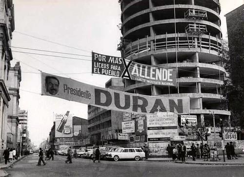 El edificio REVAL, el redondo de Alameda y San Diego, 1964