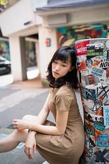 III09908 (HwaCheng Wang 王華政) Tags: 台北 時裝 西門町 美國街 電影公園 紅樓 西門天橋 md model portraiture sony a7r3 ilce7rm3 a7r mark3 a9 ilce9 24 35 85 gm dress street