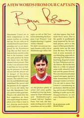 Manchester United vs Middlesbrough - Rumbelows Cup Semi Final 2nd Leg - 1992 - Page 5 (The Sky Strikers) Tags: manchester united middlesbrough rumbelows league cup semi final 2nd leg second road to wembley old trafford review official season programme one pound