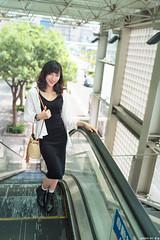 III09962 (HwaCheng Wang 王華政) Tags: 台北 時裝 西門町 美國街 電影公園 紅樓 西門天橋 md model portraiture sony a7r3 ilce7rm3 a7r mark3 a9 ilce9 24 35 85 gm dress street