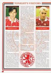 Manchester United vs Middlesbrough - Rumbelows Cup Semi Final 2nd Leg - 1992 - Page 16 (The Sky Strikers) Tags: manchester united middlesbrough rumbelows league cup semi final 2nd leg second road to wembley old trafford review official season programme one pound