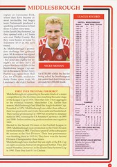 Manchester United vs Middlesbrough - Rumbelows Cup Semi Final 2nd Leg - 1992 - Page 17 (The Sky Strikers) Tags: manchester united middlesbrough rumbelows league cup semi final 2nd leg second road to wembley old trafford review official season programme one pound