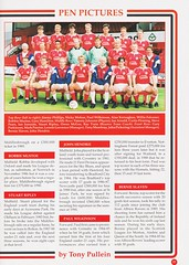 Manchester United vs Middlesbrough - Rumbelows Cup Semi Final 2nd Leg - 1992 - Page 21 (The Sky Strikers) Tags: manchester united middlesbrough rumbelows league cup semi final 2nd leg second road to wembley old trafford review official season programme one pound