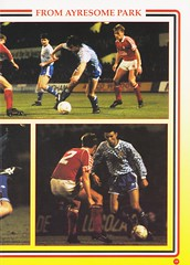 Manchester United vs Middlesbrough - Rumbelows Cup Semi Final 2nd Leg - 1992 - Page 19 (The Sky Strikers) Tags: manchester united middlesbrough rumbelows league cup semi final 2nd leg second road to wembley old trafford review official season programme one pound