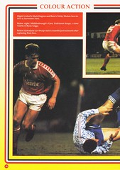 Manchester United vs Middlesbrough - Rumbelows Cup Semi Final 2nd Leg - 1992 - Page 18 (The Sky Strikers) Tags: manchester united middlesbrough rumbelows league cup semi final 2nd leg second road to wembley old trafford review official season programme one pound