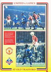 Manchester United vs Middlesbrough - Rumbelows Cup Semi Final 2nd Leg - 1992 - Page 31 (The Sky Strikers) Tags: manchester united middlesbrough rumbelows league cup semi final 2nd leg second road to wembley old trafford review official season programme one pound