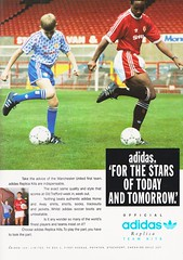 Manchester United vs Middlesbrough - Rumbelows Cup Semi Final 2nd Leg - 1992 - Page 35 (The Sky Strikers) Tags: manchester united middlesbrough rumbelows league cup semi final 2nd leg second road to wembley old trafford review official season programme one pound