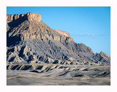 Utah's Blue Hills (www.halkaphoto.com) Tags: usa americansouthwest utah caineville badlands bluehills butte desert arid dunes formation sand nature landscape