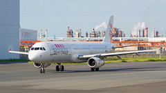 Airbus A321-231, B-HTI, Cathay Dragon (tkosada.mac) Tags: cathaydragon oneworld tokyointernationalairport hanedaairport airbus a321 hnd rjtt