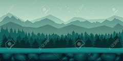 Seamless cartoon nature landscape with 2d game application. Vector design. Tileable horizontally. Size 1024x512. Ready for parallax effect (pharcyde.m.saito) Tags: parallax gaming game ui background wallpaper interface horizontal 2d vector layers level gui forest endless animation scene seamless nature ground cartoon landscape tree repeating move adventure soil earth platformer user sidescroller app star location tileable jump bonus wood mobile backdrop scroller mist platform shooter effect play jumper land jungle wind