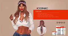 ICONIC_TALIA_BANNER (Neveah Niu /The ICONIC Owner) Tags: tlc iconic iconichair neveah neveahniu 3dmesh 3dart 3d event ethinicsl mesh scarf sailing