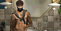 #Bath Time @http://pixelphots.blogspot.com.br (gutolarix) Tags: bath guys men male mesh 3d flow burley pixelphots guto