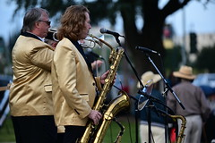 Stone Soul (Daren Grilley) Tags: california park stone gardens band hills soul beverly motown httpswwwstonesoulcom trumpet sax brass saxophone