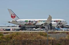 Japan Airlines Arashi Hawaii Jet Livery 787-900 Dreamliner (JA873J) LAX Approach 4 (hsckcwong) Tags: japanairlines arashihawaiijet 787900 7879 787 dreamliner ja873j klax lax