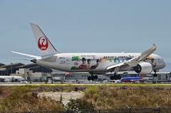 Japan Airlines Arashi Hawaii Jet Livery 787-900 Dreamliner (JA873J) LAX Approach 5 (hsckcwong) Tags: japanairlines arashihawaiijet 787900 7879 787 dreamliner ja873j klax lax