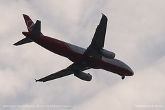 Airbus A320-232 (srkirad) Tags: aircraft airplane airliner jet airbus a320 atlasglobal turkish lowcost landing belgrade beograd serbia srbija clouds cloudy sky planespotting closeup