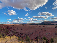 Around Quorn, Flinders Ranges (Marian Pollock) Tags: mountains clouds shadows australia lookout fromabove fields southaustralia arid flindersranges iphone