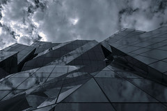 architecture (Greg M Rohan) Tags: 窓 窗口 finestra architettura arquitectura 建造 建築 architecture building sky clouds reflection glass window windows d750 2018 nikon nikkor