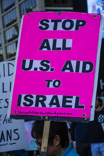 Protesting AIPAC and Israeli Treatment of the Palestinians