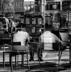 GR III (daveson47) Tags: reflection selfreflection people window mono monochrome bw blackandwhite streetphotography urban city street minneapolis ricoh ricohgriii griii