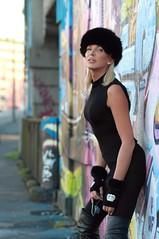 IMG_5749 (Jo Gaillard) Tags: beauty portrait boots busby eyes lips hair blonde hands jewels earrings