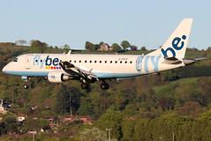 G-FBJF_10 (GH@BHD) Tags: gfbjf embraer erj erj175 be bee flybe regionaljet aircraft aviation airliner bhd egac belfastcityairport