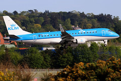 PH-EXW_05 (GH@BHD) Tags: phexw embraer erj erj175 kl klm klmcityhopper royaldutchairlines bhd egac belfastcityairport regionaljet aircraft aviation airliner