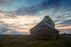 Summer Night On The Fields (k009034) Tags: 500px wooden copy space finland rural scene scandinavia tranquil agriculture architecture barn house building clouds dramatic sky evening farm farming fields landscape nature no people old scenic serenity summer sunset trees farmhouse dusk teamcanon copyspace ruralscene tranquilscene barnhouse dramaticsky nopeople