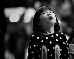 seven million wonders (gro57074@bigpond.net.au) Tags: sevenmillionwonders imagination amazement inawe wonders circularquay sydney may2019 f14 105mmf14 artseries sigma d850 nikon face portrait guyclift monochromatic monochrome monotone mono blackwhite bw candid child