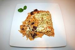 31 - Creamy spicy chicken spaghetti casserole - Served / Cremig-pikanter Hähnchen-Spaghetti-Auflauf - Serviert (JaBB) Tags: chickenbreast hähnchen hähnchenbrustfilet spaghetti creamofchicken gemüsesalsa vegetablesalsa salsa sourcream sauerrahm jalapeños tacoseasoning tacogewürzmischung tabasco käse cheese casserole auflauf spaghettiauflauf spaghetticasserole food lunch dinner essen nahrung nahrungsmittel mittagessen abendessen kochen cooking rezept recipe backen baking kochexperiment kochexperimente