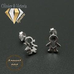 Boucles d'oreilles : vos enfants en argent 925 (olivier_victoria) Tags: argent 925 boucles oreille boucle doreille fille garçon enfant