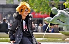 The Eye Of The Tiger (jaykay72.) Tags: london uk street candid streetphotography trafalgarsquare stphotographia