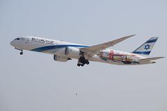 El Al Israel Airlines (San Francisco / Las Vegas) B789, 4X-EDD, TLV (LLBG Spotter) Tags: elal 4xedd aircraft tlv b787 special airline llbg