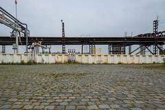 The white wall (jefvandenhoute) Tags: belgium belgië antwerp antwerpen petrolzuid industrialarcheology industrial