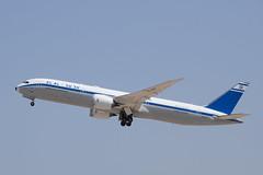 El Al Israel Airlines (Retro Livery) B789, 4X-EDF, TLV (LLBG Spotter) Tags: aircraft special airline tlv elal b787 llbg 4xedf