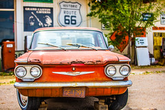 And In My Head There's All These Classic Cars (Thomas Hawk) Tags: america arizona chevrolet chevy corvair grandcanyoncaverns peachsprings route66 usa unitedstates unitedstatesofamerica auto automobile car seligman fav10 fav25 fav50