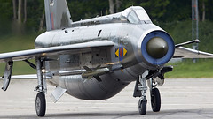 Lightning (Bernie Condon) Tags: raf royalairforce englishelectric bac lightning fighter interceptor military warplane jet classic preserved vintage british uk coldwar qra bruntingthorpe coldwarjets aircraft planes aviation jets taxi