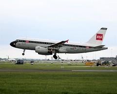 British Airways                               Airbus A319                                 G-EUPJ (Flame1958) Tags: 0622 britishairways britisheuropeanairways britishairwaysretrojet retro retrojet britishairwaysa319 beaa319 a319 airbus 319 baretro baretrojet bawretro bawretrojet a319retro a319retrojet dub eidw dublinairport 300519 0519 2019 geupj