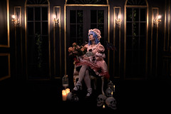 Remilia Scarlet (lolita) (bdrc) Tags: pentex asahi takumar smc 28mm f35 manual prime legacy m42 asdgraphy malaysianphotographer sony sonyalpha sonyalphamy sonyalphauniverse sonyimages sonymalaysia sonyphotography sonyuniverse remilia scarlet touhou project cosplay ximilu studio14 studio people portrait girl vampire loli indoor naturallight ambiance dark victorian theme