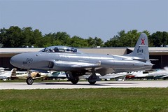 N133DV   (133610) Lockheed CT-133AUP Silver Star Mk.3 [T33-610] (Ex Royal Canadian Air Force) Oshkosh-Wittman Regional~N 30/07/2008 (raybarber2) Tags: 133610 610 abpic airportdata cnt33610 filed flickr jettrainer jetaircraft kosh n133dv planebase raybarber t33610 usacivil warbird x x610 oldtimer