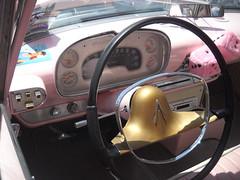 "1957 Plymouth Savoy - ""Patsy"" - Dashboard (kschwarz20) Tags: cruisin ocmd oceancity nikonl20 plymouth savoy dashboard kts md"