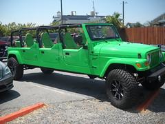 Jeep Wrangler Sport Stretch Limo (kschwarz20) Tags: cruisin ocmd oceancity nikonl20 jeep wrangler kts md
