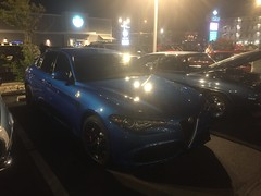 2018 (?) Alfa Romeo Giulia Quadrifoglio (kschwarz20) Tags: cruisin ocmd oceancity iphone alfaromoe giulia kts md
