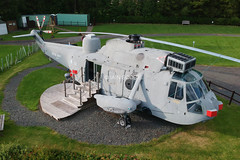 (scobie56) Tags: westland seaking has6 za127 509 cu rn royal navy fleet air arm glamping thornhill stirling scotland